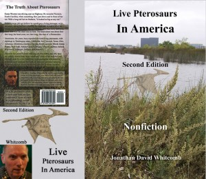 front and back cover for Live Pterosaurs in America, second edition