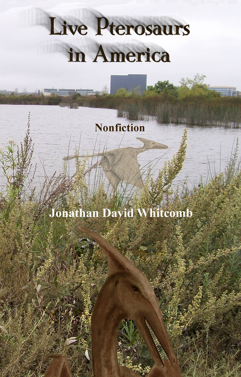 front cover for nonfiction cryptozoology book, 3rd edition