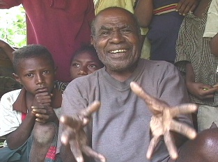 Eyewitness Michael of Opai Village, Umboi Island, Papua New Guinea