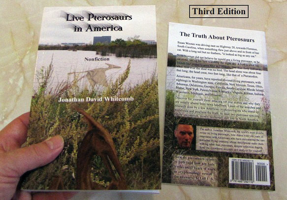 back and front covers of Live Pterosaurs in America book