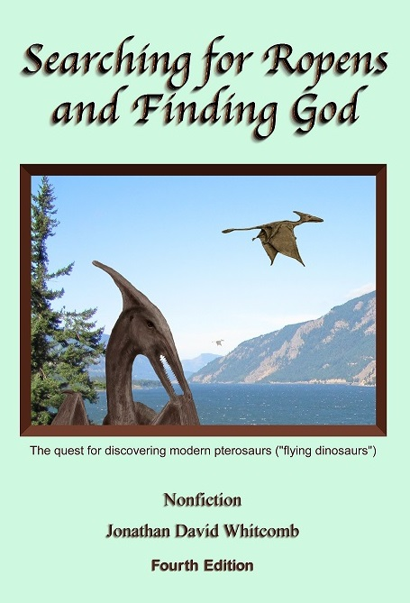 """Searching for Ropens and Finding God"" - 4th edition of nonfiction book"