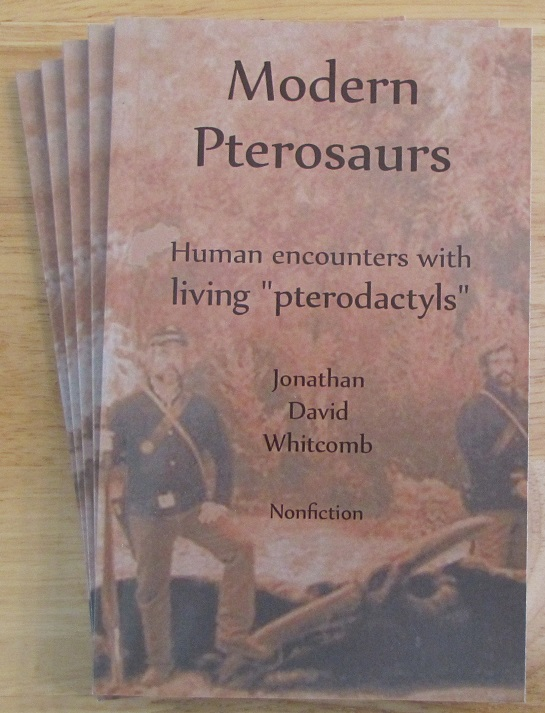 """Modern Pterosaurs"" is subtitled ""Human encounters with living pterodactyls"""