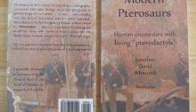 nonfiction book about a photo of a 19th century pterosaur