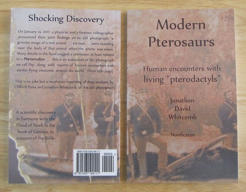 nonfiction book about a photo of a 19th century pterosaur