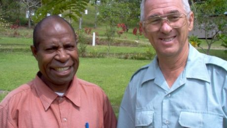 in Papua New Guinea: Jacob Kepas and James Blume