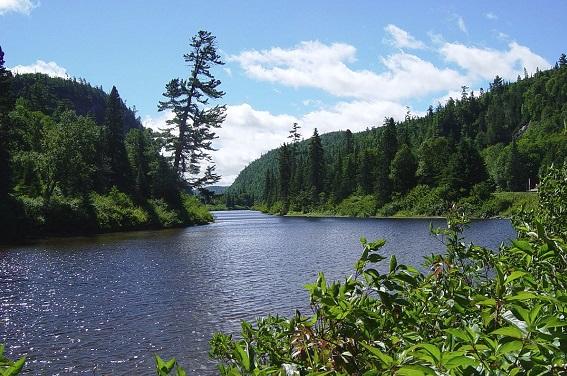 rural - Agawa River in Canada